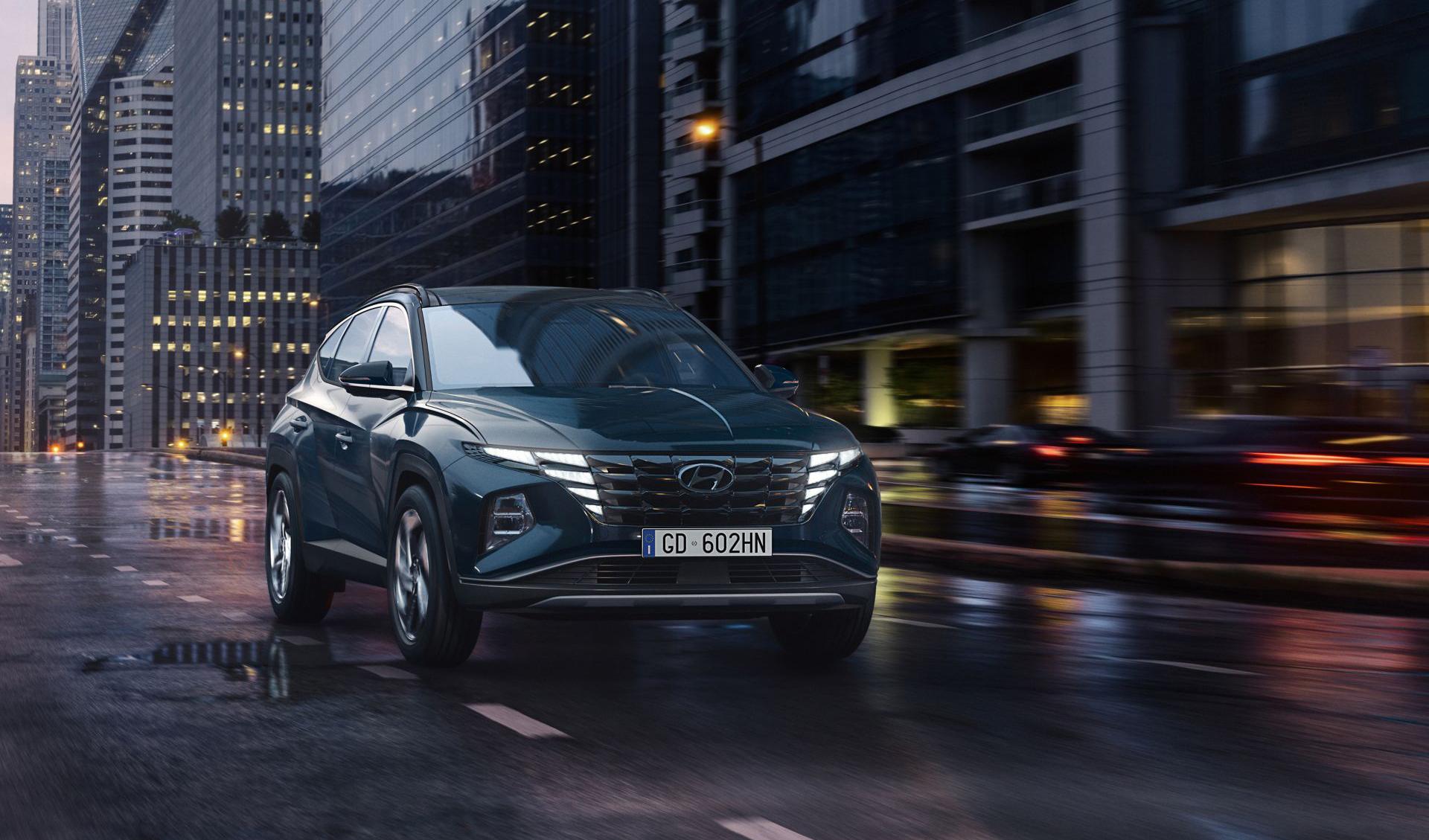 Nuova Hyundai TUCSON.